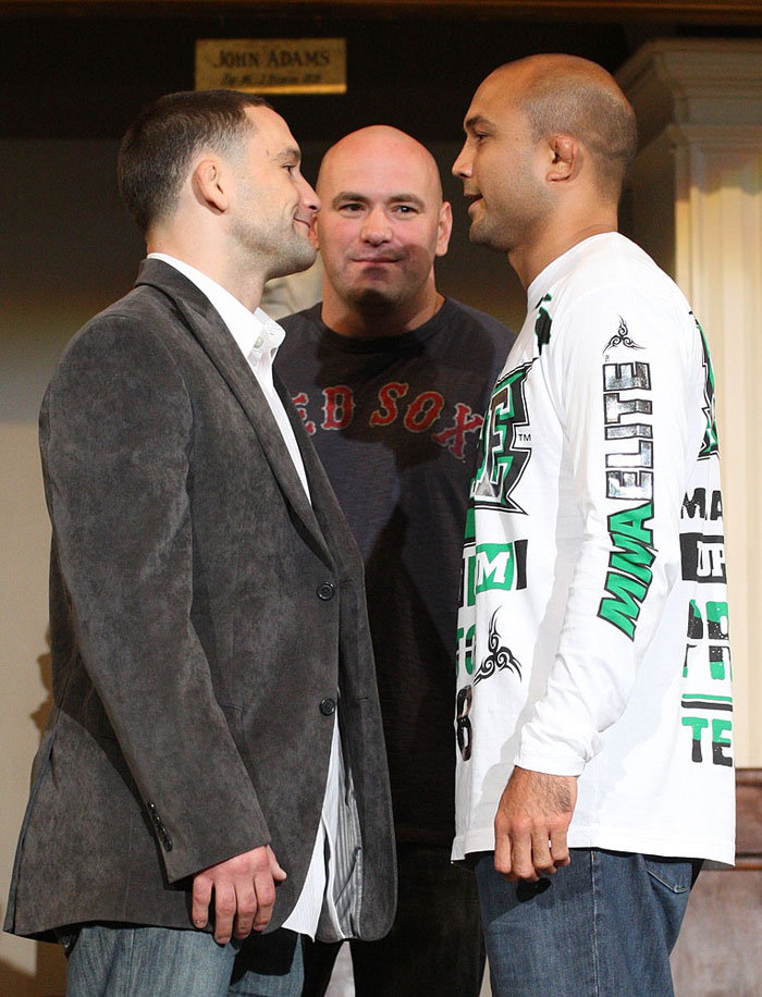 <a href='../fighter/Frankie-Edgar'>Frankie Edgar</a> and <a href='../fighter/BJ-Penn'>BJ Penn</a>