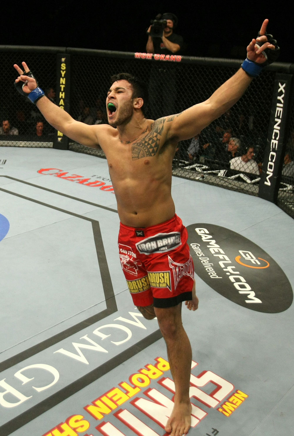 UFC middleweight Brad Tavares