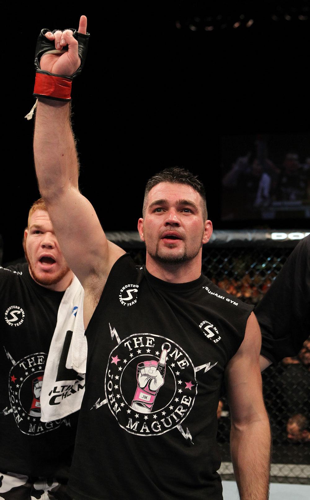 UFC welterweight John Maguire