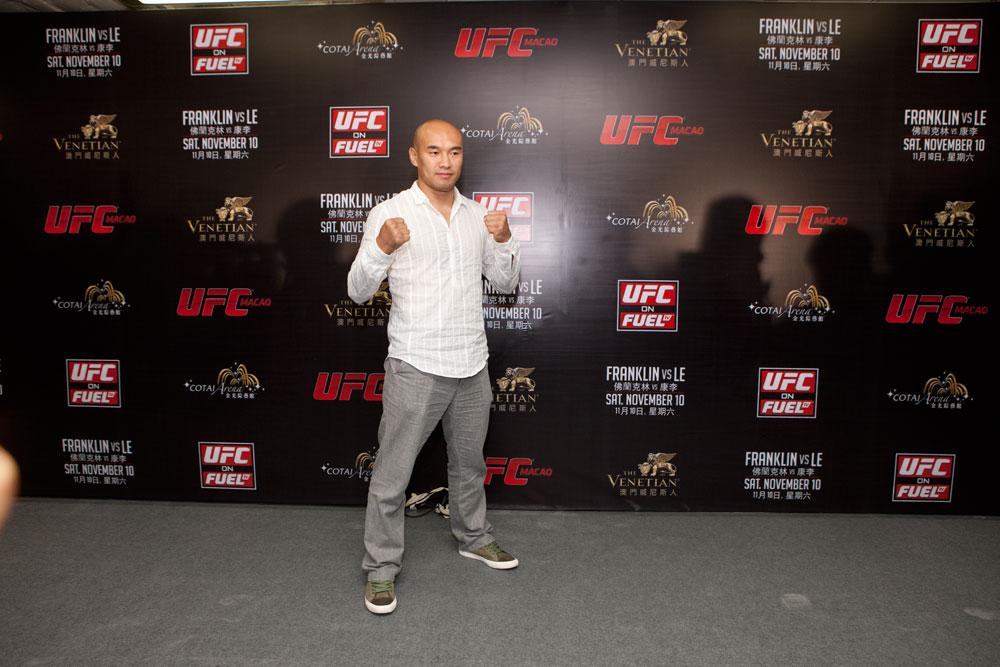 UFC lightweight Tiequan Zhang