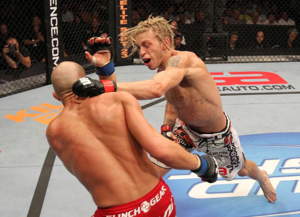 UFC featherweight Jonathan Brookins
