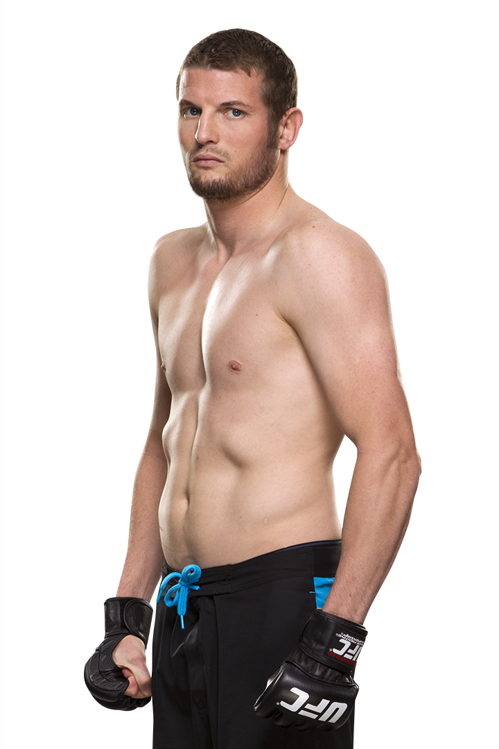 UFC featherweight Chas Skelly
