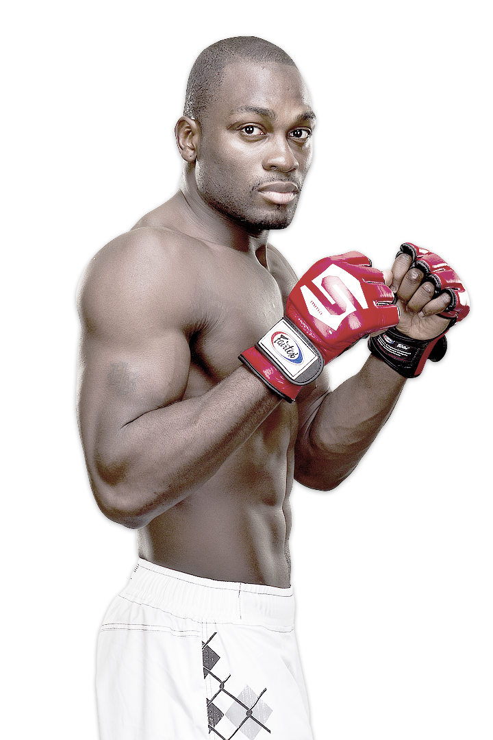 Strikeforce middleweight Derek Brunson