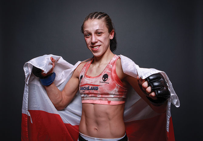 Undefeated striker <a href='../fighter/Joanna-Jedrzejczyk'>Joanna Jedrzejczyk</a> is 7-0 overall with two wins in the Octagon.