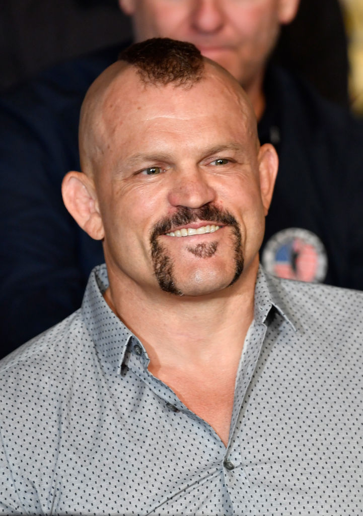 LOS ANGELES, CA - AUGUST 04:  UFC hall of famer Chuck Liddell is seen in attendance during the UFC 227 event inside Staples Center on August 4, 2018 in Los Angeles, California. (Photo by Jeff Bottari/Zuffa LLC/Zuffa LLC via Getty Images)
