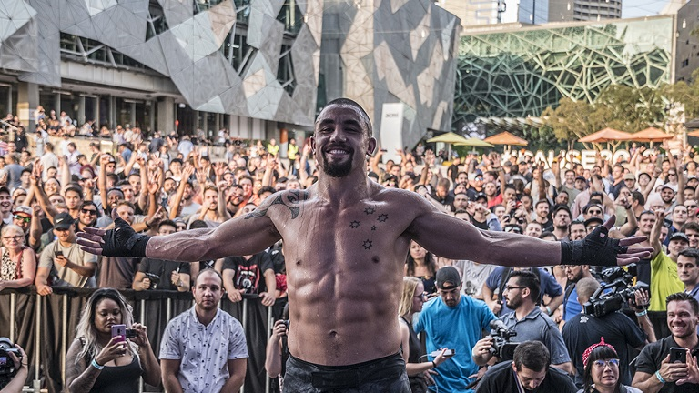 MELBOURNE, AUSTRALIA 2/7/19 - UFC 234 Open Workouts at the Federation Square. (Photo credit Juan Cardenas).