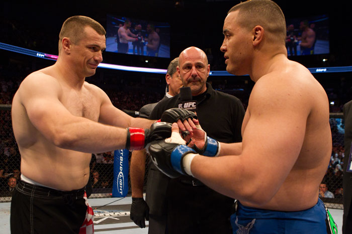 Cro Cop vs. Barry