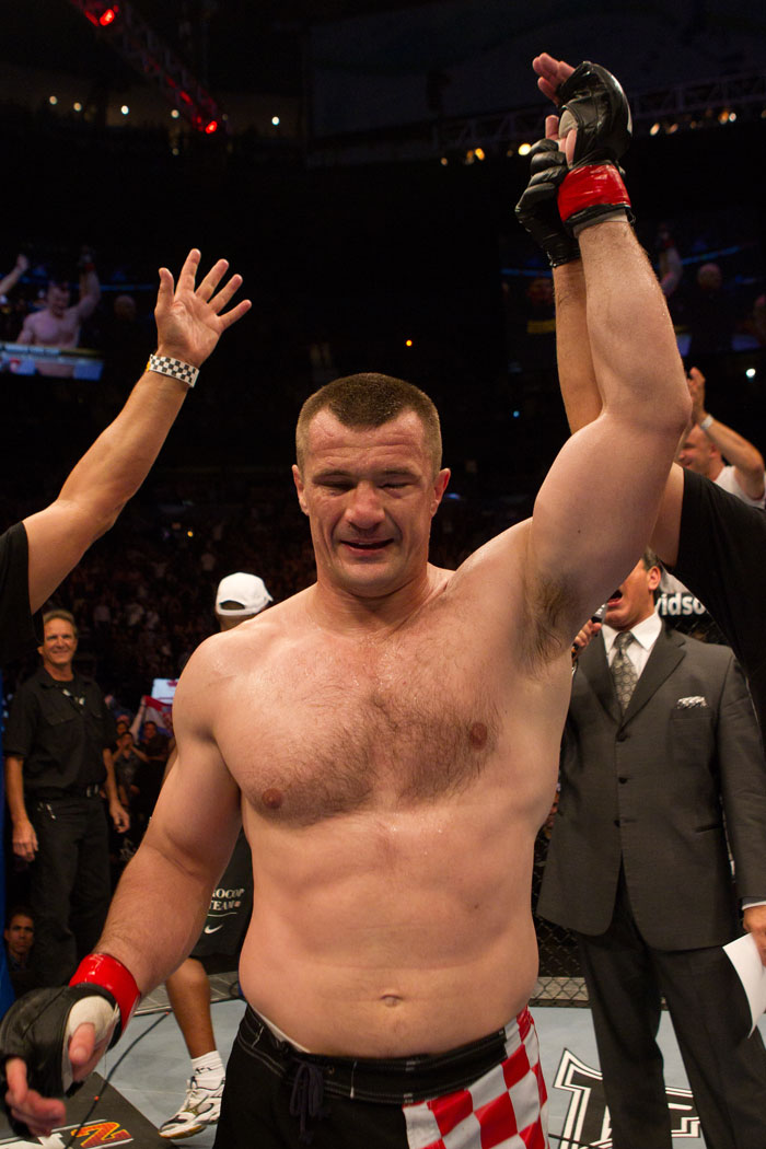 Mirko Cro Cop wins by submission (choke)