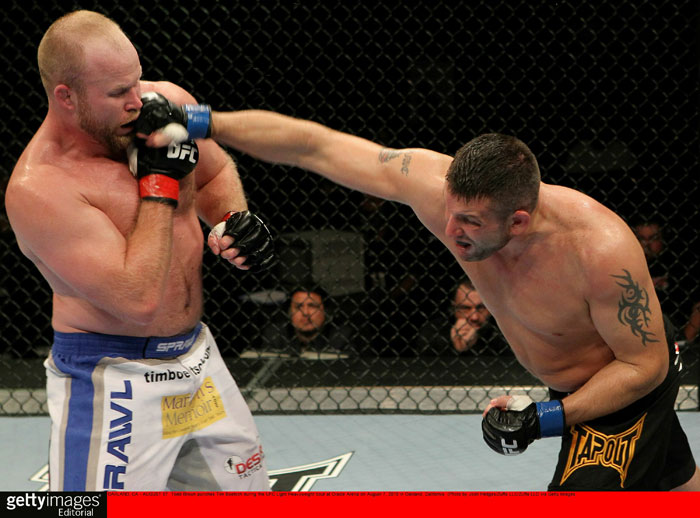 Boetsch vs. Brown