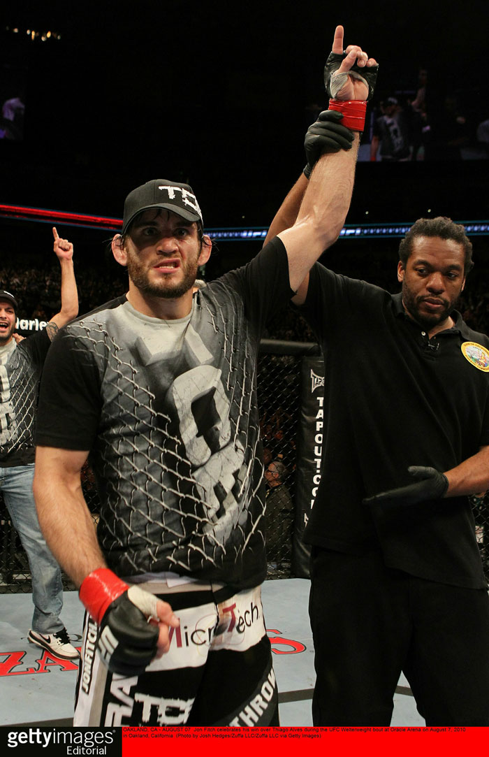 Jon Fitch - winner
