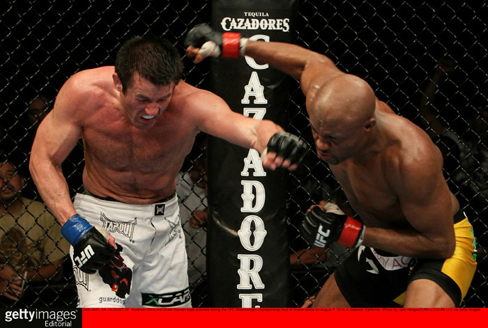 Silva vs Sonnen