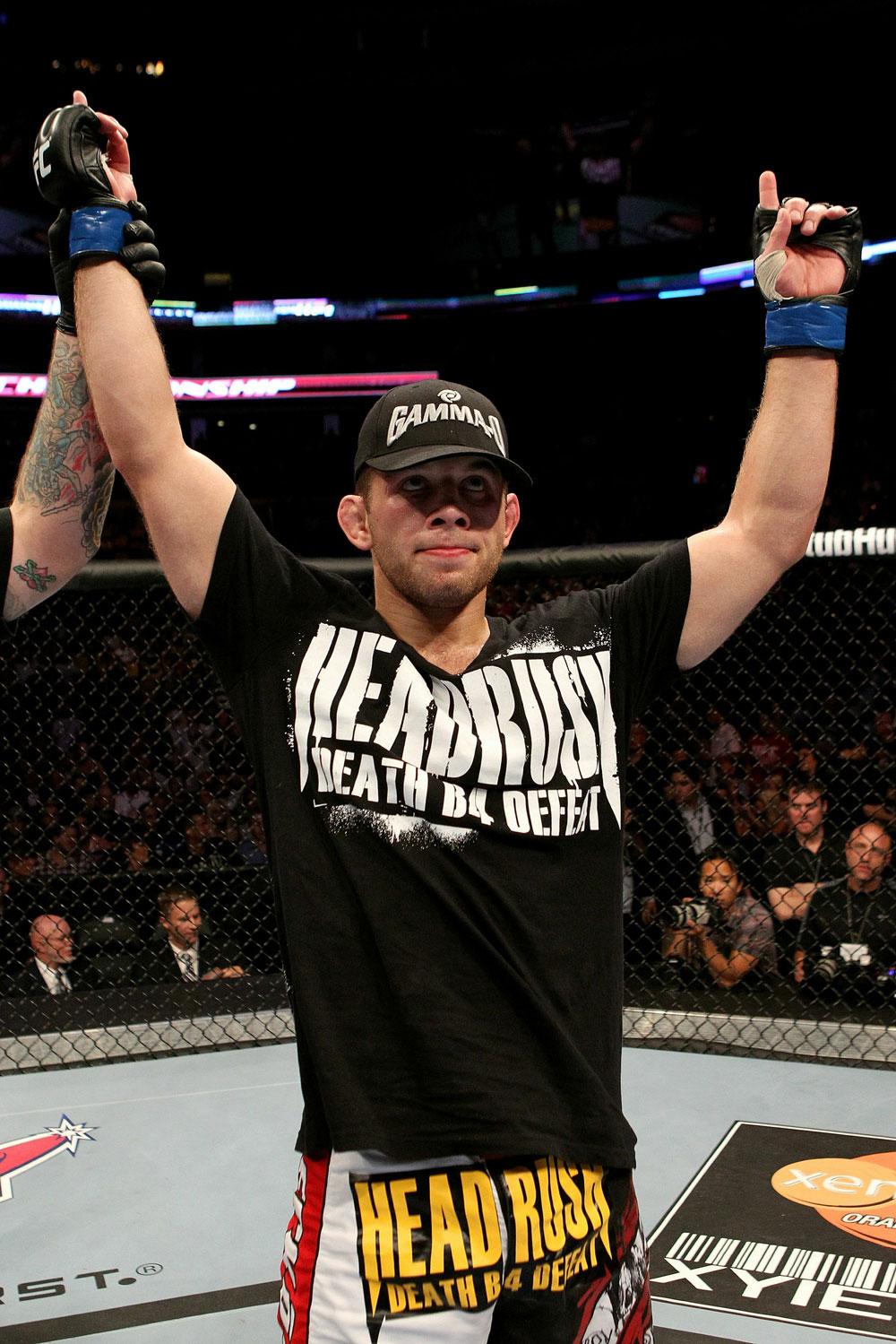 UFC 118 Lentz