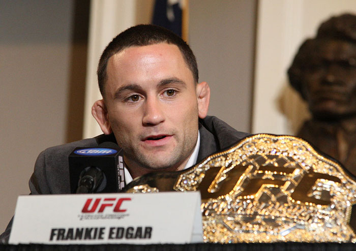 UFC 118 Press Conference: Frankie Edgar.