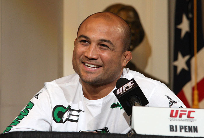 UFC 118 Press Conference: BJ Penn. 