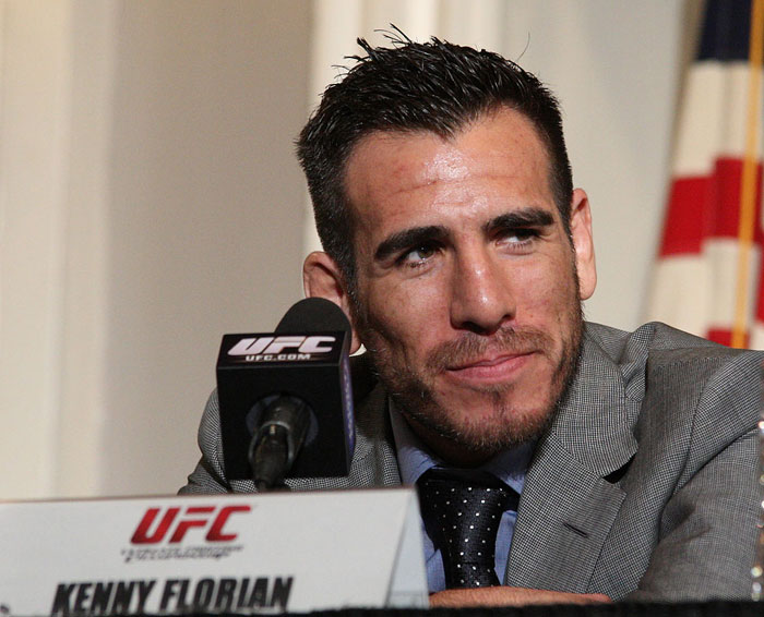 UFC 118 Press Conference: Kenny Florian. 