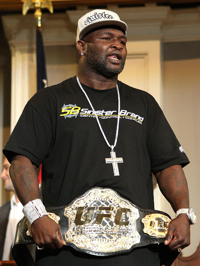 UFC 118 Press Conference: James Toney. 