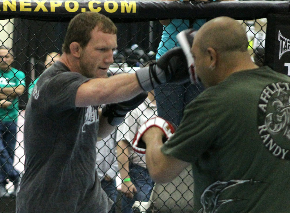 UFC118: Aug. 26th Boston, MA. Gray Maynard at open workouts. (Photo by Josh Hedges/Zuffa LLC via Getty Images)