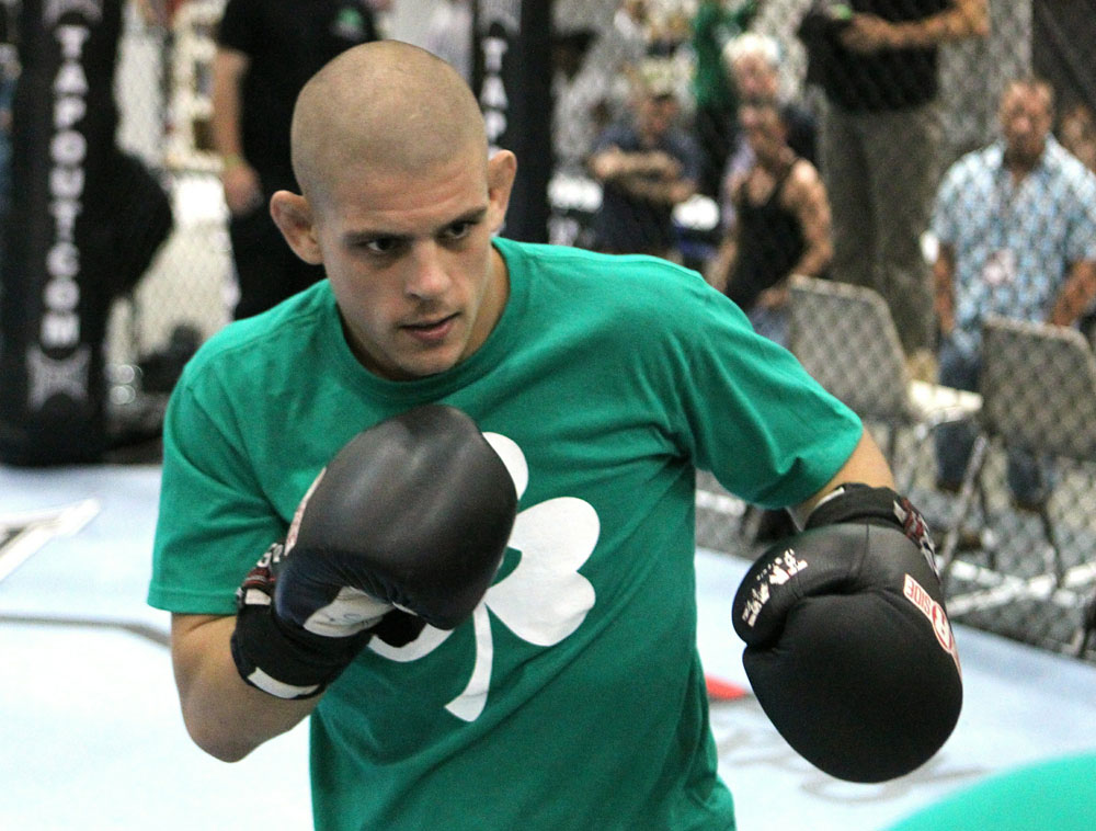UFC118: Aug. 26th Boston, MA. Open workouts. (Photo by Josh Hedges/Zuffa LLC via Getty Images)