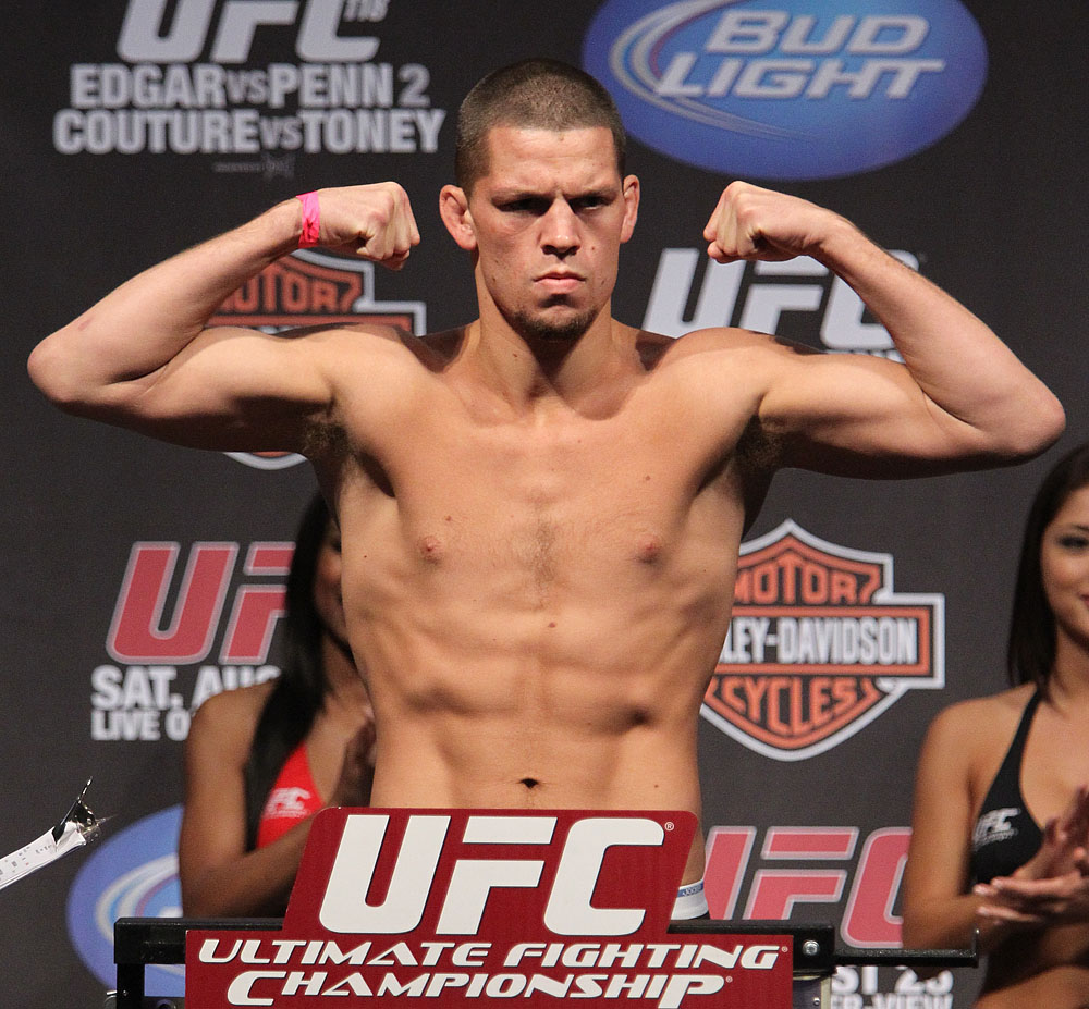 UFC118 weigh-ins Diaz