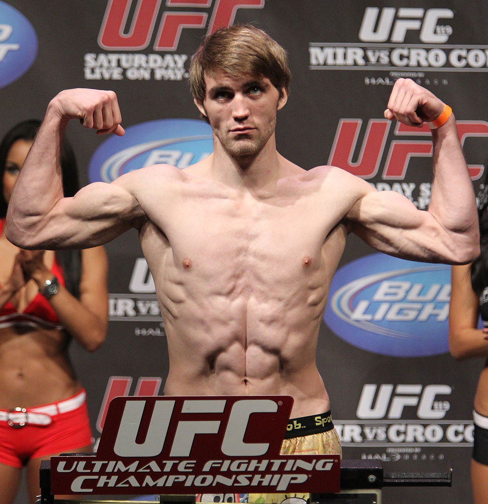 UFC 119 weigh ins: Pat Audinwood
