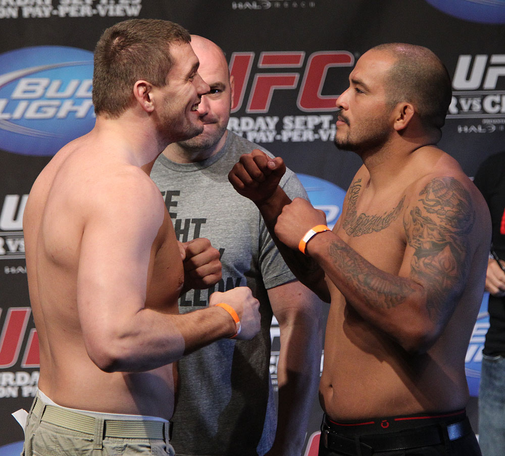 UFC 119 weigh ins: Mitrione vs. Beltran