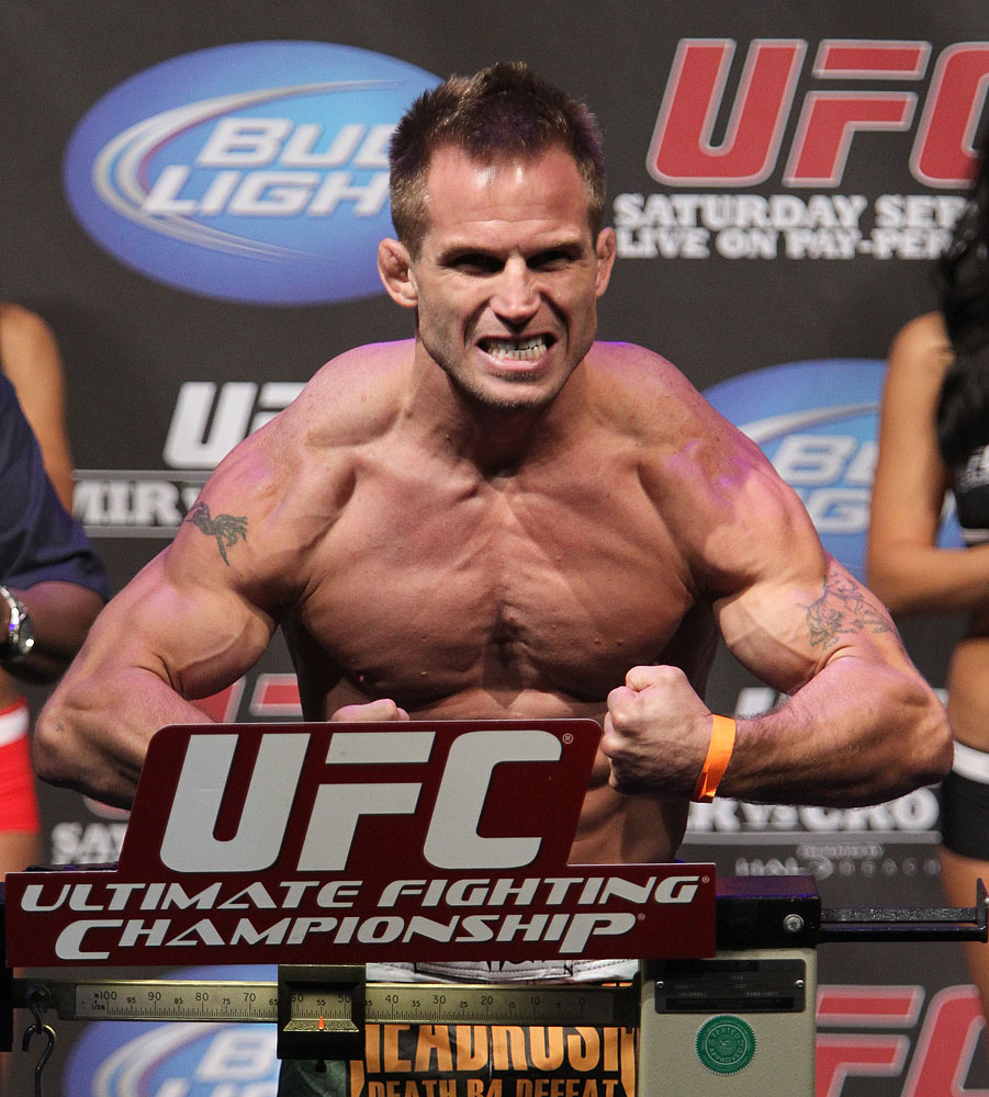 UFC 119 weigh ins: Sean Sherk