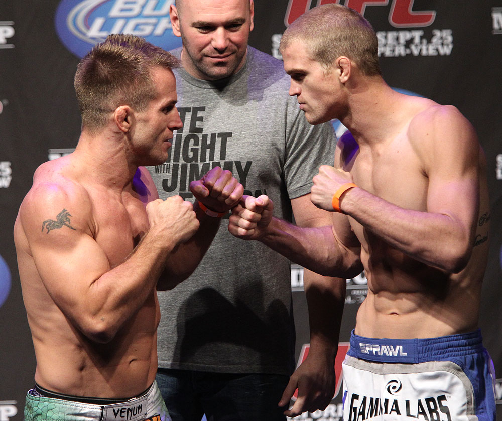UFC 119 weigh ins: Sherk vs. Dunham