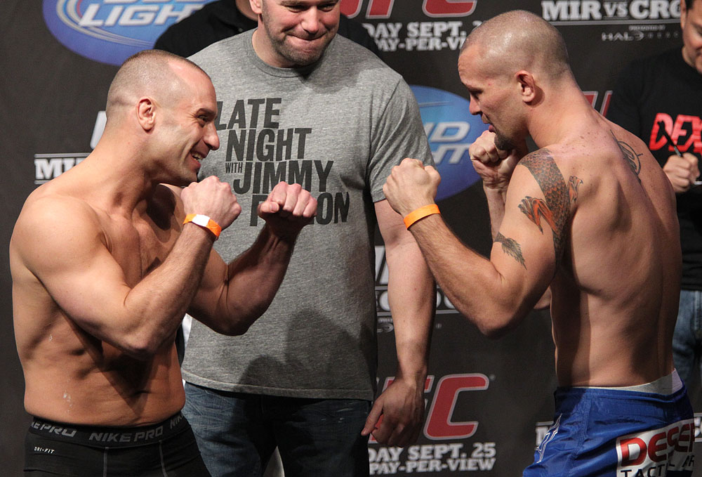 UFC 119 weigh ins: Serra vs. Lytle