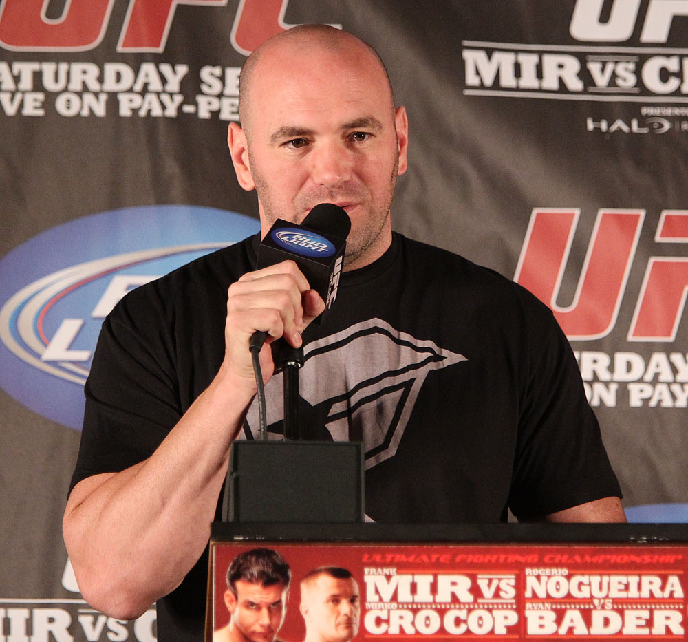 UFC 119 Press Conference