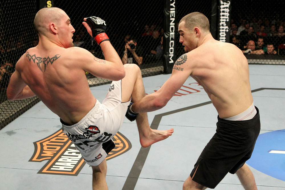 UFC 120: Sass vs. Holst