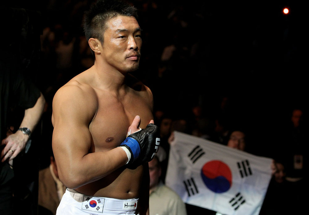 UFC 120: Yoshihiro Akiyama before the fight.