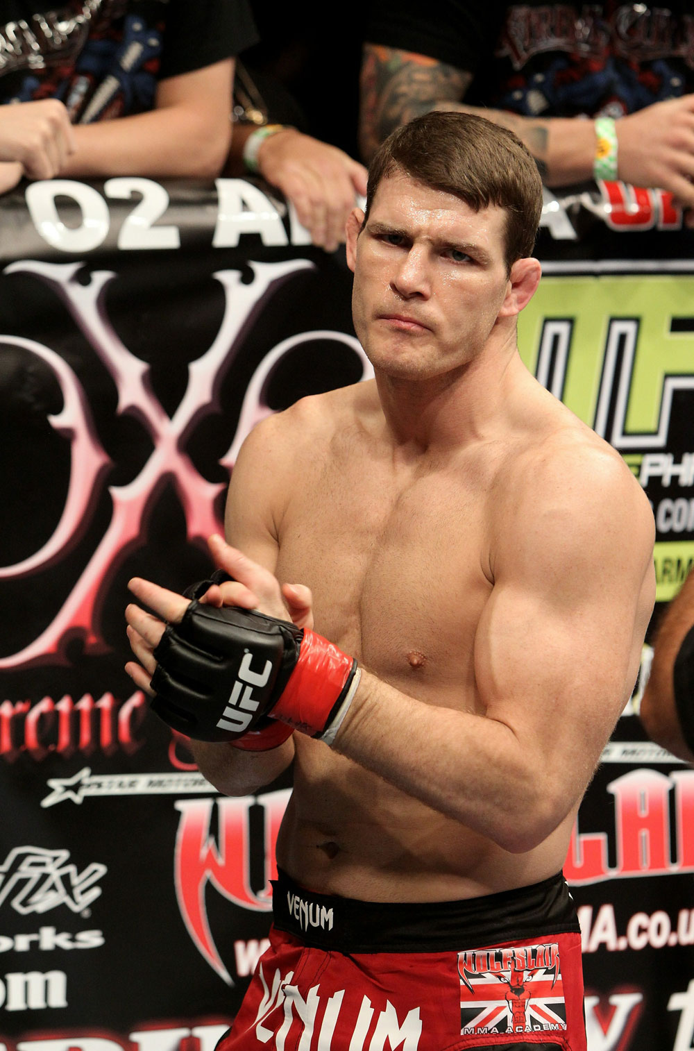 UFC 120: Michael Bisping before the fight.