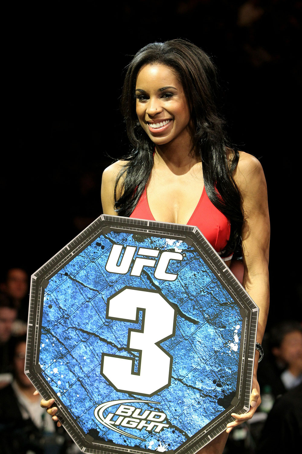 UFC 120: Octagon Girl Chandella