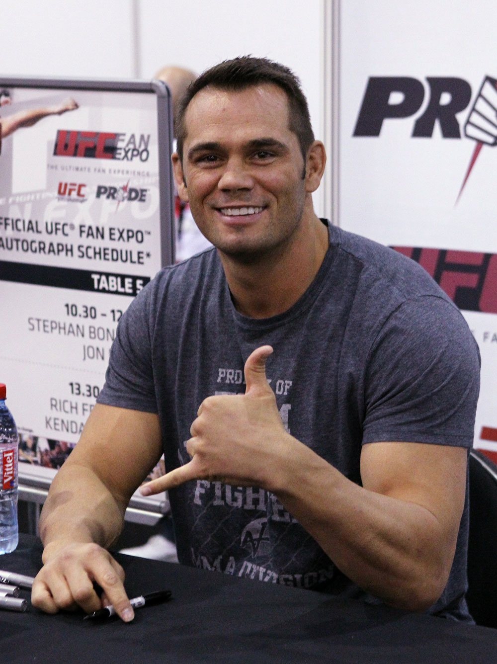 Former UFC Middleweight Champion Rich Franklin at the UFC Fan Expo London