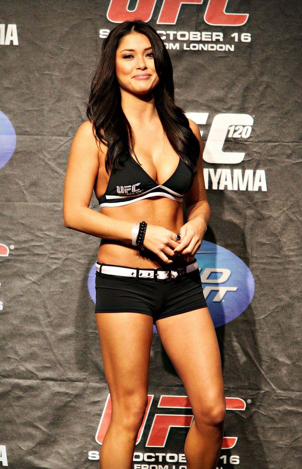 UFC 120 Weigh-Ins: Octagon Girl Arianny Celeste