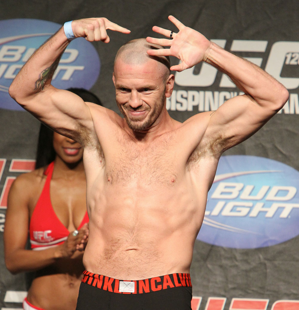 UFC 120 Weigh-Ins: Spencer Fisher