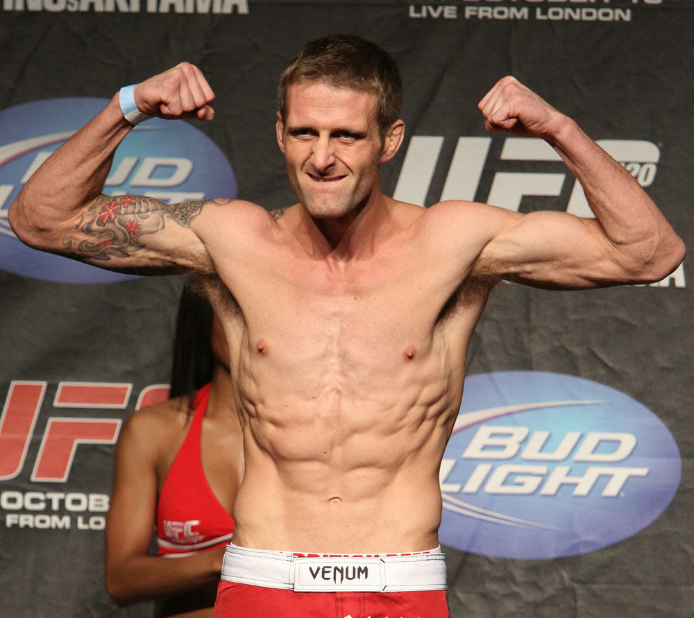 UFC 120 Weigh-Ins: Curt Warburton