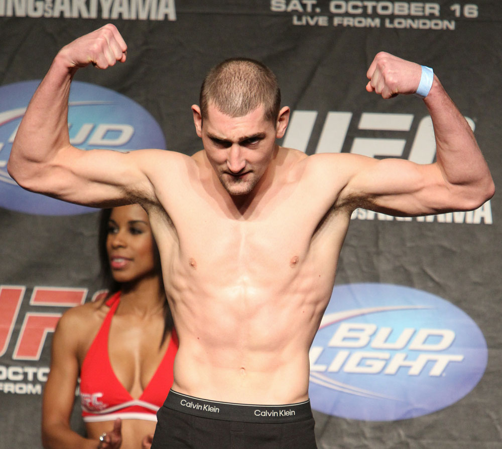 UFC 120 Weigh-Ins: Paul Sass
