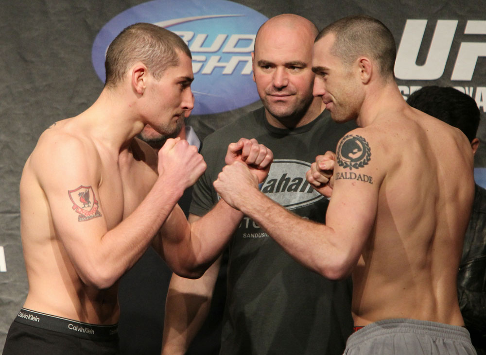 UFC 120 Weigh-Ins: Sass vs. Holst
