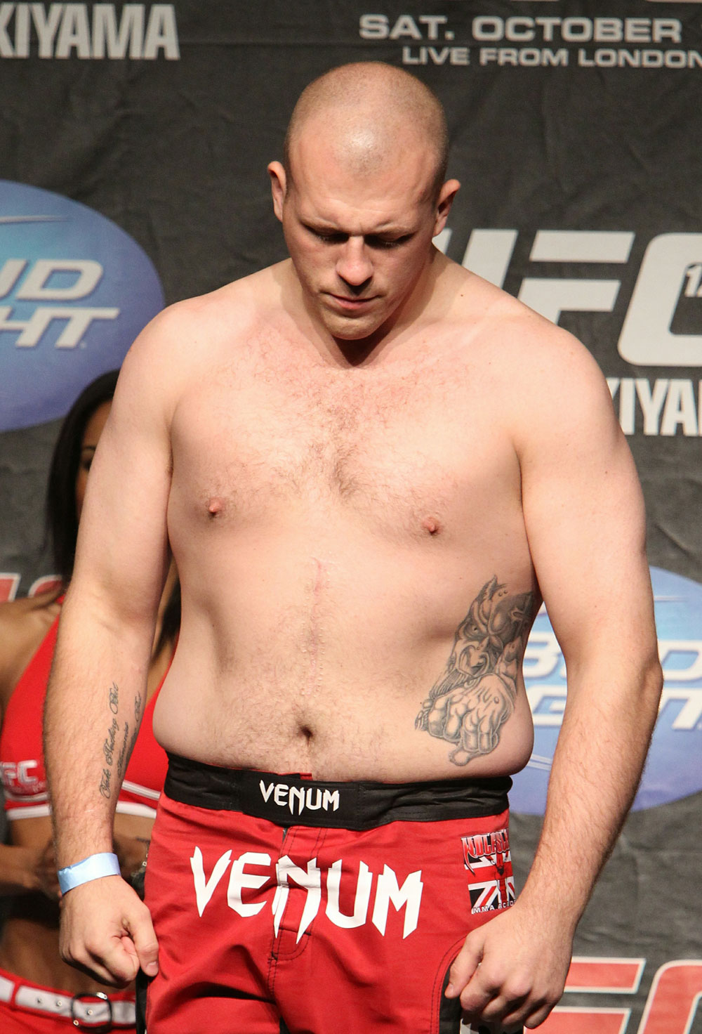 UFC 120 Weigh-Ins: Rob Broughton