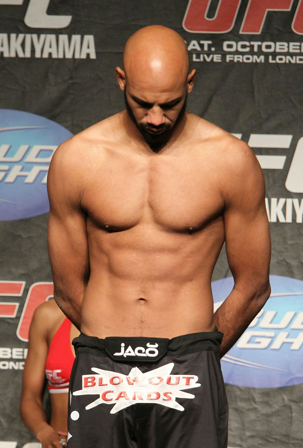 UFC 120 Weigh-Ins: Cyrille Diabate
