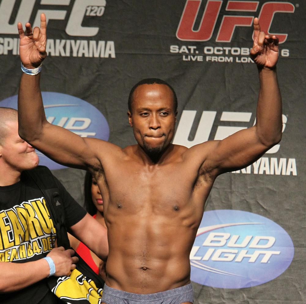 UFC 120 Weigh-Ins: Claude Patrick