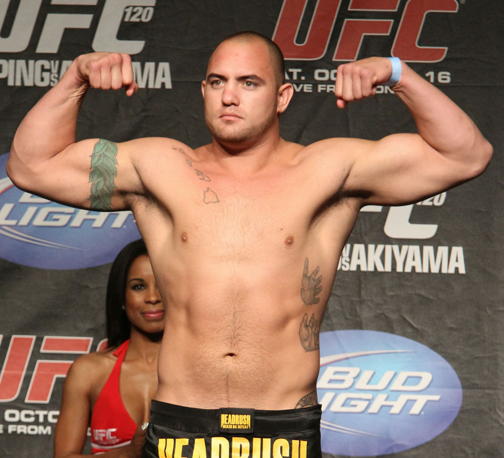 UFC 120 Weigh-Ins: Travis Browne