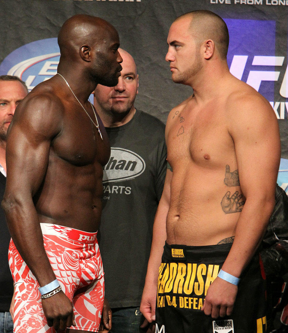 UFC 120 Weigh-Ins: Kongo vs. Browne