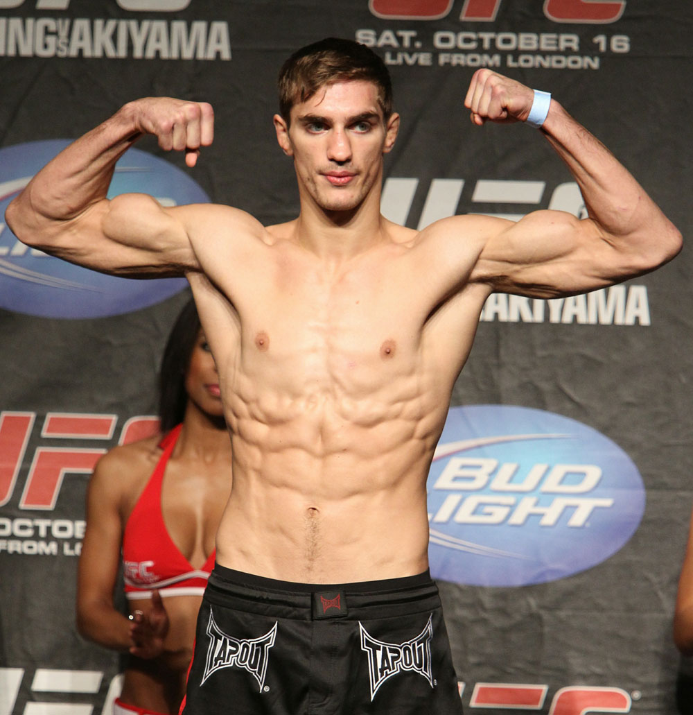 UFC 120 Weigh-Ins: John Hathaway