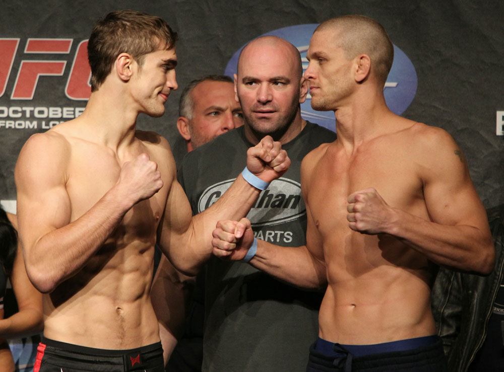 UFC 120 Weigh-Ins: Hathaway vs. Pyle