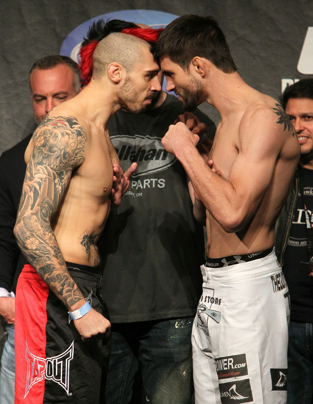 UFC 120 Weigh-Ins: Hardy vs. Condit