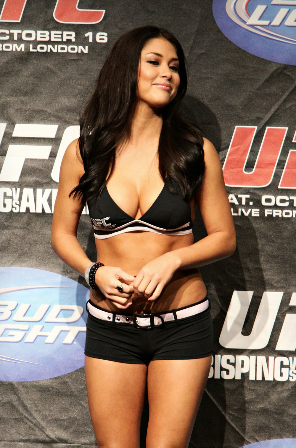 UFC 120 Weigh-Ins: Arianny Celeste