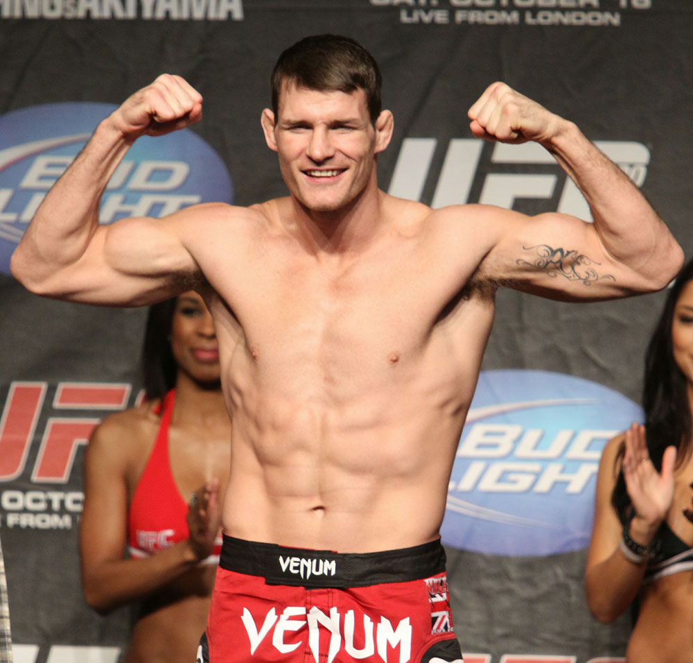 UFC 120 Weigh-Ins: Michael Bisping