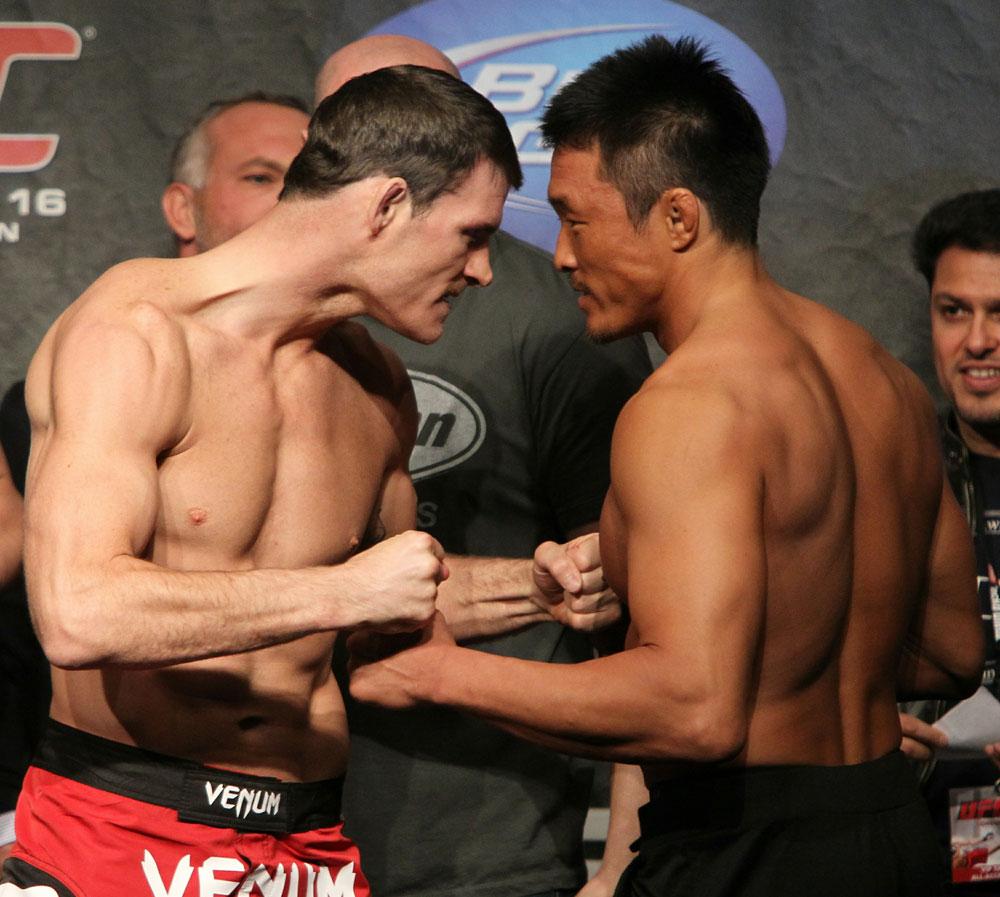 UFC 120 Weigh-Ins: Bisping vs. Akiyama